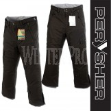 PERYSHER  PERFORMANCE Black Mens Ski Pants / Snowboard Pants
