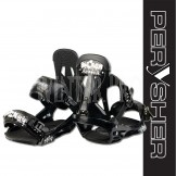 PERYSHER Black SPLASH Lightweight Performance Snowboard Bindings