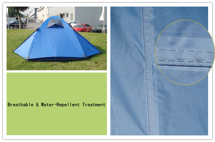 waterproof and breathable tent