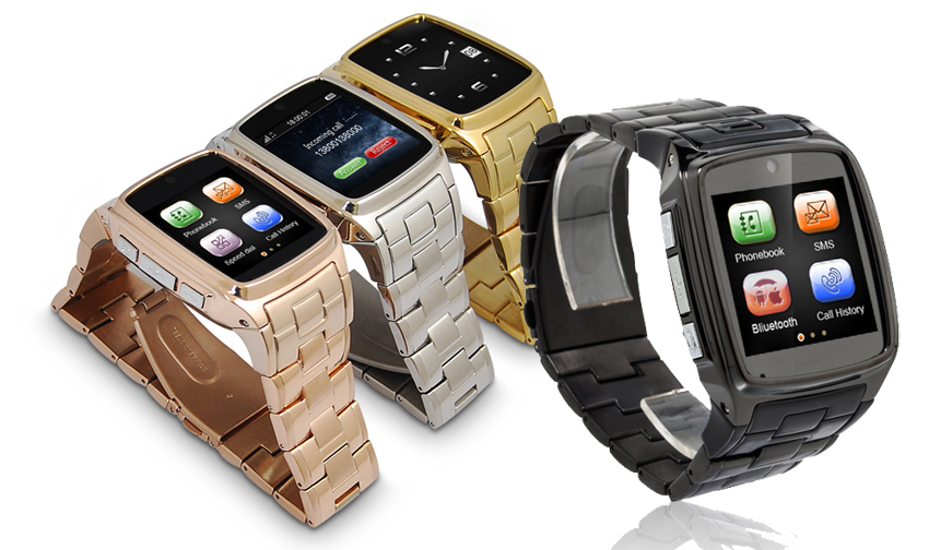 TW810D Stainless Steel Smart Watch