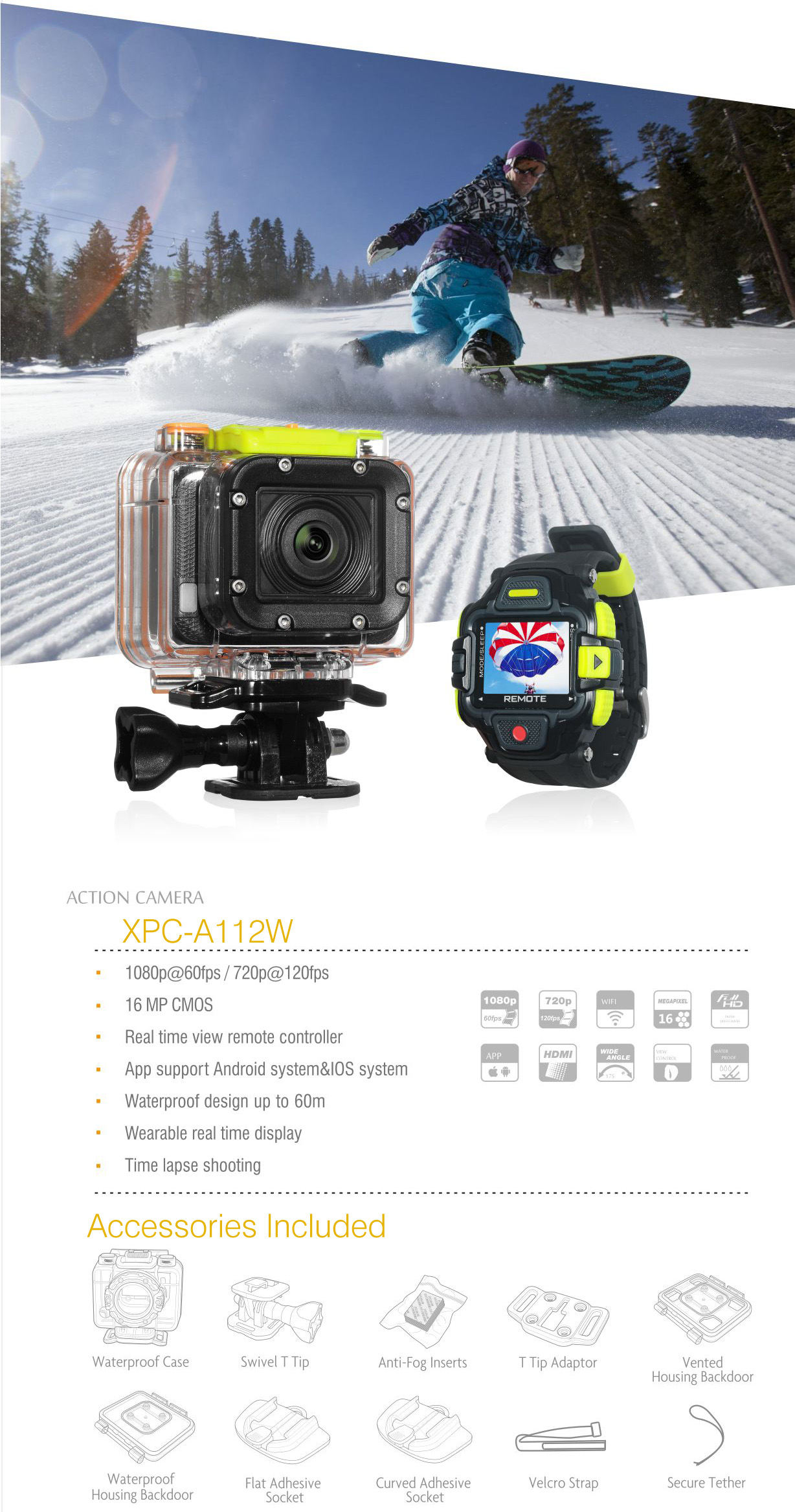 Xplore Action Cam