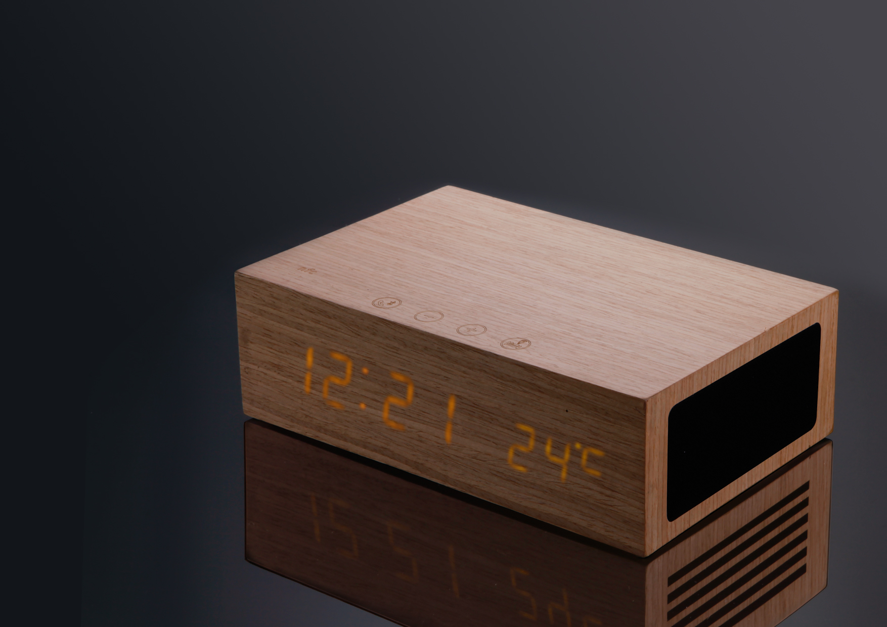 HOMTIME All In One alarm clock speaker