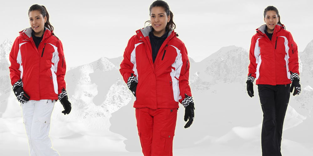 PERYSHER Racer V2 ski snowboard red jacket