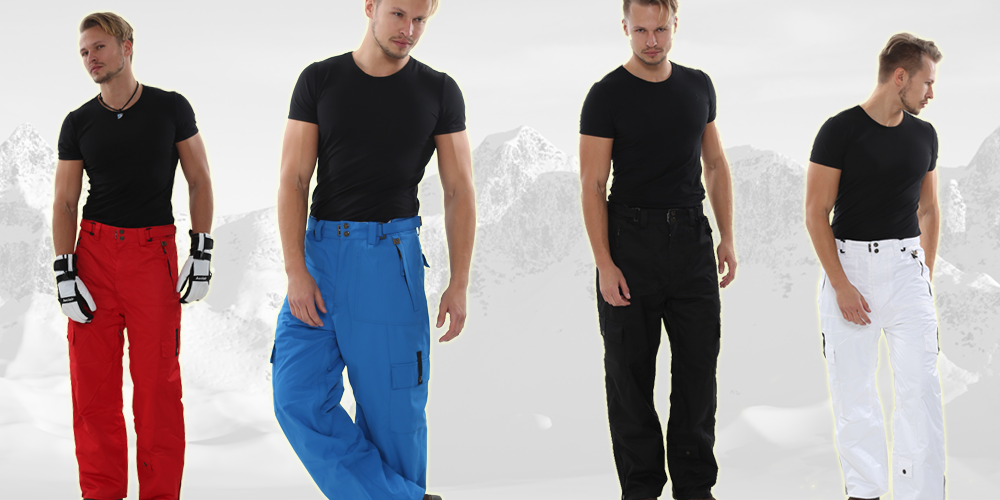 PERYSHER mens ski snowboard pants